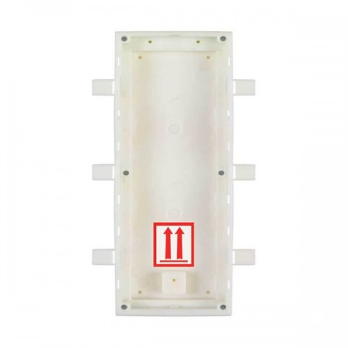 2N® IP Verso 3-Modules Flush-Mount Back Box 9155016