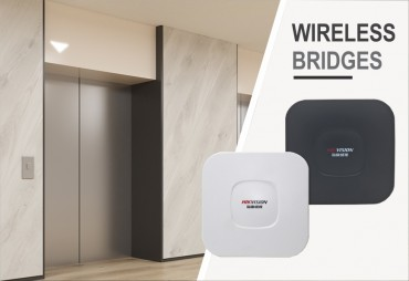 New Wireless Bridges help get cameras in hard to reach places