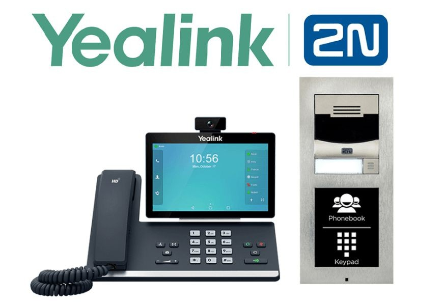 2N IP Intercoms Are Now Compatible with Yealink Telephones