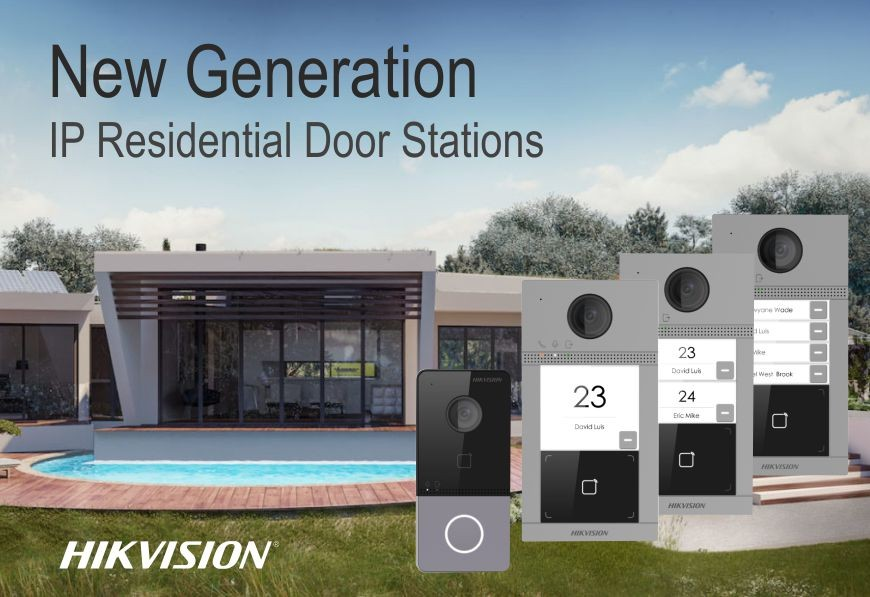 IP Residential Door Station Improved with Video Intercom