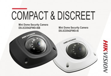 Hikvision Value Plus Mini Dome Security Camera Offers High Resolution Surveillance