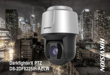 Hikvision Launches New DarkFighterX PTZ Security Camera